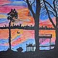 Beach Silhouette by Sonali Gangane