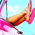 Beach Slippers - Summer Time Serie by Gabriel T Toro