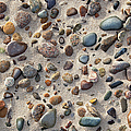 Beach Stones by Charles Harden