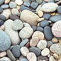 Beach Stones by David Murray