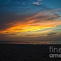 Beach Sunrise by Brahimou NG