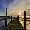 Beach Sunrise V2 by Ian Mitchell