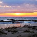 Beach Sunset by Linda Kerkau