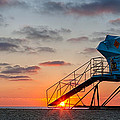 Beach Tower Wide Screen by Peter Tellone