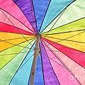 Beach Umbrella 2 by Allen Beatty