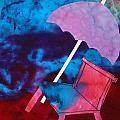 Beach Umbrella by Antigone StClair