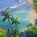 Beach View From Above by Pat Heydlauff