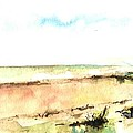 Beach View by Karina Plachetka