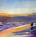 Beach Walk by Tom Dimock