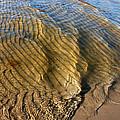 Beach Wave Pattern. by Jan Brons