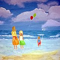 Beachbaloons by Aat Kuijpers