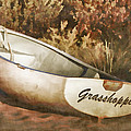 Beached Rowboat by Carol Leigh