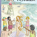 Venus On The Beach by Roz Chast