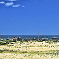 Beachouses As Seen From Jockey's Ridge State Park by Allen Beatty