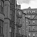 Beacon Hill In Black And White by Ruth H Curtis