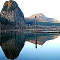 Beacon Rock Reflecions by Kathy Sampson