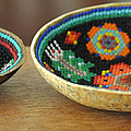 Beaded Indian Baskets by Jay Milo