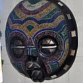Handbeaded Mask Mexico by Jay Milo