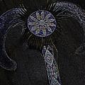 Beaded Staff 4 by Lovina Wright