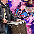 Beads And Feathers At Mardi Gras by Kathleen K Parker