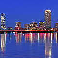 Beantown City Lights by Juergen Roth