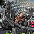 Bear And His Mentors Walt Disney World 04 by Thomas Woolworth