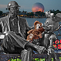 Bear And His Mentors Walt Disney World 05 by Thomas Woolworth