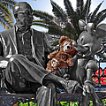 Bear And His Mentors Walt Disney World 06 by Thomas Woolworth
