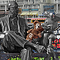 Bear And His Mentors Walt Disney World 07 by Thomas Woolworth