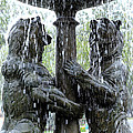Bear Fountain by Scott Hill