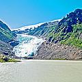 Bear Glacier Near Stewart-british Columbia  by Ruth Hager