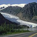 Bear Glacier by Roderick Bley