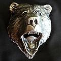 Bear Head Bottle Opener by Tim  Joyner