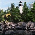 Bear Island Lighthouse by Jack Skinner