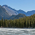 Bear Lake In Inter In Rocky Mountain National Park by Fred Stearns