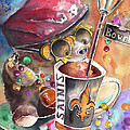 Bear On Bourbon by Miki De Goodaboom