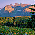 Bear Valley Glacier National Park by Ed  Riche