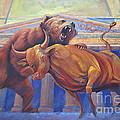 Bear Vs Bull by Rob Corsetti