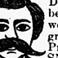 Beard Elixir Ad, 1889 by Granger