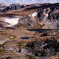 Beartooth Highway Cirques by Tracy Knauer