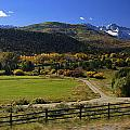 Beatiful Ranch Shot From The Highway by Rendell B