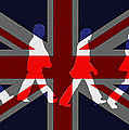 Beatles Abbey Road Flag by Bill Cannon
