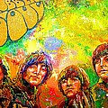 Beatles Rubber Soul by Leland Castro