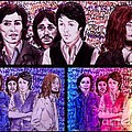 Rainbow Beatles Design Trio by Joan-Violet Stretch