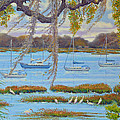 Beaufort Anchorage by Dwain Ray