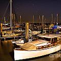Beaufort Sc Night Harbor by Reid Callaway
