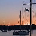 Beaufort Sc Sunset by Bob Pardue