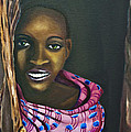 Beautiful African Girl by Raven Burnes