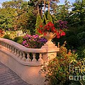 Beautiful Balustrade Fence In Halifax Public Gardens by John Malone