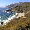 Beautiful Big Sur Coastline by Christiane Schulze Art And Photography